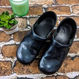 Dansko Patent Leather Professional Nursing Clogs